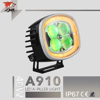 auto led tuning - LYC Car accessories shops IP67 W Spot light Flood Light Aluminum LED headlight led light auto tuning