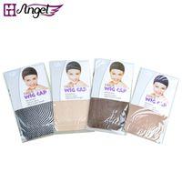 Wholesale GH Angel set High Stretchable Elastic weave nets Fishnet Hairnet for Wig making Snood Mesh colors optional