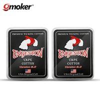 Cigarrillo Electrónico Premium Wicking Algodón Engeston Vape Algodón Original Célula Saludable Para RDA RBA Atomizador Coil Wick