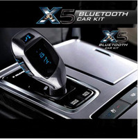 Wholesale Wireless FM Transmitter bluetooth Car Kit MP3 Player Handsfree Call Radio Modulator With USB TF speakerphone car charger