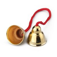 Wholesale Pieces Solid Brass Pub Handheld Hand Bell with Rope cm