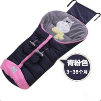 Wholesale 2017 New Baby Sleeping bag Nursery Bedding Cotton Winter Thicken Newborn Infant Strollers Bed Swaddle