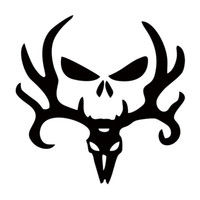 Wholesale Deer Hunt Hunting Punisher Decal Personality Funny Car Styling Sticker Jdm Truck Car Decal Window Graphics Decor