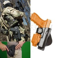 Wholesale Tactical hunting Polymer Holster Fits Glock Tactical Paddle Roto Retention Right hand