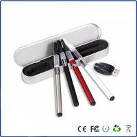 aluminium battery case - CE3 CBD Oil vape pen kit bud touch e cig start kit with mah battery ml vaporizer aluminium case