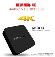 Wholesale 2017 NEW RK3229 MXQ k TV Box Android KODI Fully Loaded H K tps P HD Streaming Media Player TV Boxes Remoted MXQ