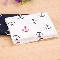 anchor textiles - 2pcs set Cotton Fabric for Sewing Anchor Design Fat Quarter Fabrics Quilting Home Textile Tecido Patchwork cm cm