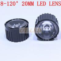 angle lamp holder - x mm led optical lens with Black holder lens holder Angle Degree for w w LED Light Lamp