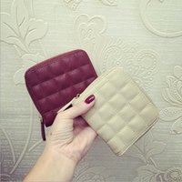 Wholesale Free Sipping Women Mini Purse Leather Ladies Wallet Female Short Students Cute Wallets