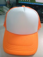 advertising price - Small qty foam baseball cap cheap price net cap advertising cap with custom logo for give away good item for advertising