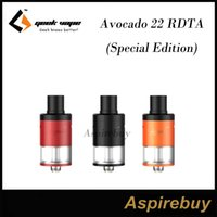 avocado juice - GeekVape Avocado RDTA Special Edition ML Tank features Larger Deck and Post Holes Side Juice Fill Port Premium Matte Finish Colors