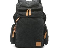 Wholesale Foreign trade the original single new retro men s and women s outdoor canvas bag big travel backpack backpack bag fashion