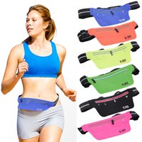 Wholesale Super Slim cm x cm Outdoor Adjustable cm Sports Fitness Running Jogging Waist Belt Bag Pouch New Arrival