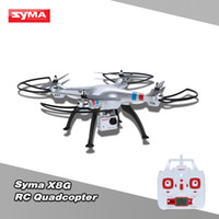 Wholesale Original Syma x8g ch rc quadcopter drone with mp camera Shipping from USA Germany Spain UK Shenzhen Warehouse RM3794