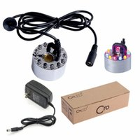 Wholesale Ultrasonic Maker Mist Fogger Water Fountain Pond LED RGB ML H Fountains Water Tank