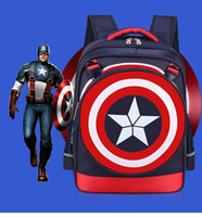 Wholesale Cartoon Hero Students Backpack Children Leisure Bag Cute Preppy Style Satchel Creative Halloween Schoolbag Kid Christmas Gift Collecting
