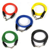 Wholesale New Multi function Resistance Bands pull rope latex Wall pulley Artistic Gymnastics pull strap latex Expansion belt for Bodybuilding