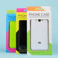 Cheap Paper retail packaging boxes Best cell phone case Display box packaging for phone covers