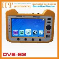 Genuino Satero SH-910HD DVB-S2 Satélite Digital Buscador Satfinder HD con Analizador de Espectro en Tiempo Real Función HD Outpu