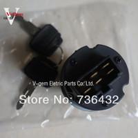 Wholesale Fast Kobelco SK SK100 SK200 SK300 ignition switch start switch key switch Kobelco excavator parts
