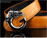 active advantage - 2016 men s fashion accessories horsehead shape alloy belt factory direct delivery welcome price advantage