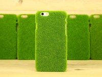 apple personal - New Hot Sale Personal Customed Green Lawn Hard Cover Phone Back Case For iPhone For iPhone S Plus