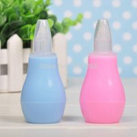 Wholesale Silicone Baby Children Nasal Aspirator Toddler Nose Cleaner Infant Snot Vacuum Sucker QXEI no cover