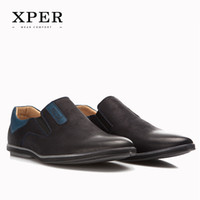 big brown rubbers - 40 Big Size XPER Brands Men Loafers Fashion Breathable Soft Men Flats Shoes Slip on Mixed Colors YM86831BU BN