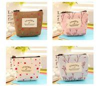Wholesale New Fashion printing zipper Coin Purse Women Wallet Burse cm Mix Color High Quality
