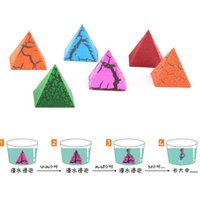 best expansion - New best selling children s toys creative expansion water color Egyptian pyramids small Novelty toy