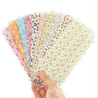 bamboo tape - pack New Sweet Bamboo Flower series paper Envelope love letter gift bag office school supplies WJ0135
