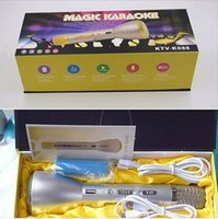Wholesale Magic Karaoke speaker Microphone k088 sing Wireless with Bluetooth Speaker PowerBank Outdoor KTV Microphone For martphones Ipad Android