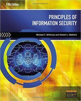 Wholesale Principles of Information Security th Edition by Michael E Whitman Author Herbert J Mattord Author ISBN