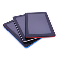 Slim Quad Core 9 pouces Tablet PC Bluetooth flash Wifi 512 Mo de RAM 8 Go ROM écran capacitif Android 4.4 Tablettes Bluetooth Dual Cameras Tablet