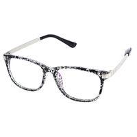 Wholesale 2016 square plain eye glasses brand myopia eyeglasses frame for women men eyeglasses optical eyewear Oculos De Grau Femininos W1