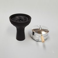 Wholesale pc large vortex shisha hookah bowl and charcoal holder as one
