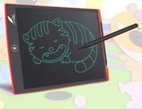 al por mayor pantalla pequeña pulgadas-Venta al por mayor- 8,5 pulgadas LCD Digital escritura dibujo tableta bordo pequeña pizarra electrónica sin papeles oficina de escritura Junta con bolígrafos