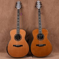 Wholesale Pure hand made acoustic guitar Semize Se B limited edition solid top guitar