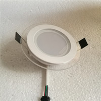 Wholesale 6w w w led panel light glass cover smd5730 quality items ROUDA