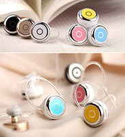 Wholesale Colorful Mini Style Wireless Bluetooth Headset Can Answer Call Fashionable Headphone for All Phone like S7 edge i7 i6s i6 note7