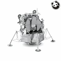 apollo model - Panda model Aviation D Metal Model Puzzles APOLLO LUNAR MODULE Chinese Metal Earth Stainless Steel Creative Gifts ICONX