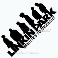 band stickers car - linkin park Personalized reflective car stickers band Waterproof Colorful stickers Professional car with high strength reflective film