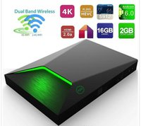 al por mayor red de streaming-M9S-Z9 TV Android Box 2GB 16GB de apoyo Gigabit Lan 1080P / AV / 3G / Dolby banda dual wifi red de streaming de TV Box