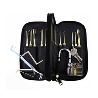 atomic cases - Bullkeys Good quality Goso Lock Picks Set with Leather Case Lockpick Locksmith Tools With Atomic Padlock