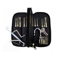 atomic auto - Good quality Goso Lock Picks Set with Leather Case Lockpick Locksmith Tools With Atomic Padlock