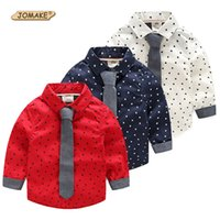 baby star designer clothing - Stars Full Print Boys Shirts Fashion Brand Children Clothing Baby Boy Clothes New Designer Kids Shirts For Toddler Boy Tie Shirt