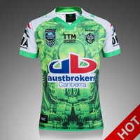 Wholesale Top Quality New Zealand NRL Men s Rugby Jersey Super Rugby Oakland home rugby shirt S XL