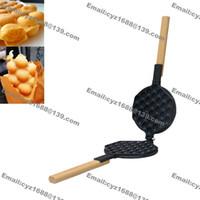 Wholesale Commercial Home Use Nonstick Hongkong Eggettes Egg Puff Bubble Waffle Iron Mold Plate Pan