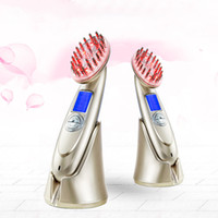 Wholesale New micro current vibrant cosmetic laser comb Laser Hair Regrowth Comb RF3 regulate personal care Beauty Instrument laser Beauty Instrument