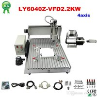 Wholesale high performance LY CNC Z VFD KW axis CNC Router Engraver Engraving Drilling and Milling Machine with ball screw